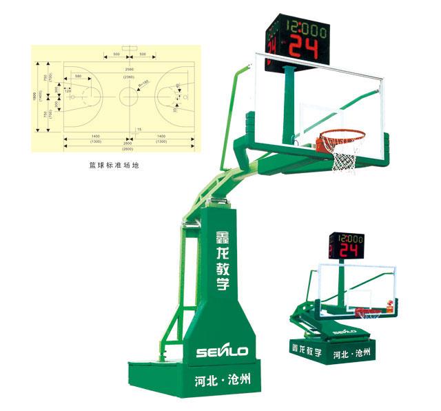 XLL-001电动液压篮球架